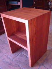 Red Gum Bed Side Table 3 - Contempory
