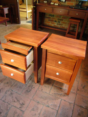 Red Gum Bed Side Table 5