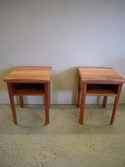 Red Gum Bed Side Table 6