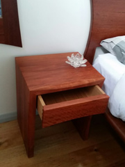 Red Gum Bed Side Table 7