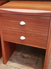 Red Gum Bed Side Table 8