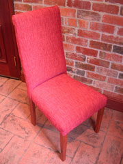 Red Gum Chair 1 - Fully Upholstered
