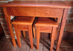 Redgum Hall Table 10