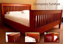 Red Gum King Size Bed