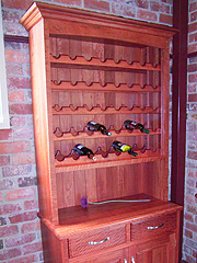 Redgum Wall Unit 1
