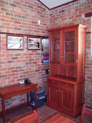 Redgum Wall Unit 3
