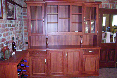 Redgum Wall Unit 5