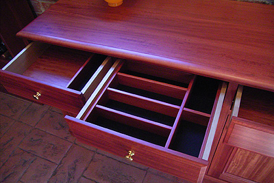 Redgum Wall Unit 6 - Corbals